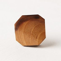 """Anthropologie - Faceted Geo Knob - Tighten with careHardware requiredResin, brass1.5"""" diameter0.75"""" projection1.75"""" bolt can be trimmed to sizeImported"""