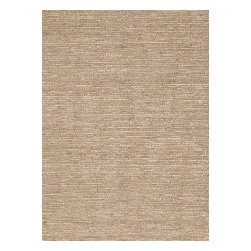 Jaipur Rugs - Natural Solid Pattern Hemp/Jute Ivory /White Woven Rug - CL01, 8x10 - The popular Calypso Collection is proof that simplicity is a wonderful approach to decoration. Crafted of natural jute, each rug is expertly woven by hand to our impeccable standards of quality for a relaxed feel of comfort. In rich colors ranging from eye-catching jewel tone to highly functional neutrals, the Calypso Collection will add texture and dimension wherever it is placed.
