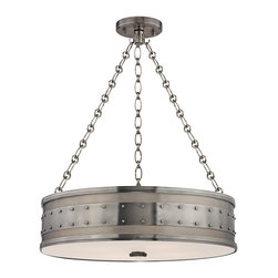 HUDSON VALLEY LIGHTING - Hudson Valley Lighting Gaines-Pendant Historic Nickel - Free Shipping