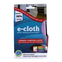 """E-cloth General Purpose Cloth 12.5"""" X 12.5"""" Inches - 1 Cloth - E-Cloth General Purpose Cloth 12.5"""" x 12.5"""" inches Description:"""