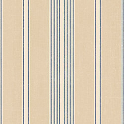 Multi Stripe in Navy and Taupe - DS29706 - Collection:Stripes & Damasks 2