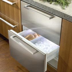 "Sub-Zero 27"" Built-in Double Drawer Freezer, Custom Panel   700BFI - 5.1 CU FT CAPACITY"