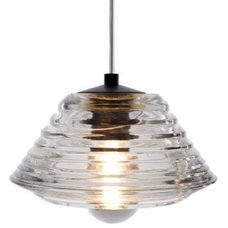 Pendant Lighting Pressed Glass Pendant - Bowl by Tom Dixon