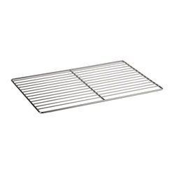 Paderno World Cuisine - 25 1/2 in. by 20 7/8 in. Stainless-steel Cooling Rack - This 25 1/2 Long by 20 7/8 Wide (Hotel Pan Size 2/1) Stainless-steel Cooling Rack is a necessity for any pastry chef for moving, cooling and storing pastries.