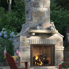 Traditional Outdoor Fireplaces by Fireside Hearth & Home Twin Cities