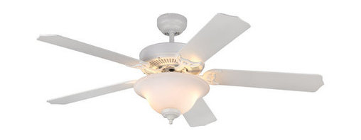 """Monte Carlo - Monte Carlo Homeowner Max Plus 5 Bladed 52"""" Energy Star Rated Indoor Ceiling Fan - Features:"""
