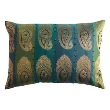 Pier 1 Woven Paisley Pillow -