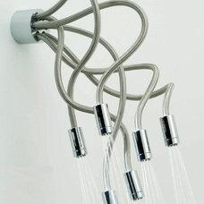 Snake & Spray: Twisted Medusa-Style Shower Head Design   Designs & Ideas on Dorn