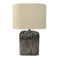 Yosemite Home Decor - End Table Lamp: Portable Lamp Series 25 in. Beige Table Lamp PTL001 - Shop for Lighting & Fans at The Home Depot. The all new designs from Yosemite Home Decor Portable Lighting Series offer you the sleekest and dazing table and floor lamps. With a variety of elegant and soothing shade colors to uniquely designed bases, these single bulb lamps will surely fit in either an office, hallway, living room, or bedroom of your choice.