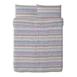 BIRGIT SPETS Duvet cover and pillowcase(s) - Duvet cover and pillowcase(s), multicolor