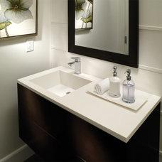 Contemporary Bathroom Sinks by MTI Baths