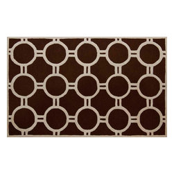 Safavieh - Batula Hand Tufted Rug, Dark Brown / Ivory 6' X 9' - Construction Method: Hand Tufted. Country of Origin: India. Care Instructions: Vacuum Regularly To Prevent Dust And Crumbs From Settling Into The Roots Of The Fibers. Avoid Direct And Continuous Exposure To Sunlight. Use Rug Protectors Under The Legs Of Heavy Furniture To Avoid Flattening Piles. Do Not Pull Loose Ends; Clip Them With Scissors To Remove. Turn Carpet Occasionally To Equalize Wear. Remove Spills Immediately. Bring classic style to your bedroom, living room, or home office with a richly-dimensional Safavieh Cambridge Rug. Artfully hand-tufted, these plush wool area rugs are crafted with plush and loop textures to highlight timeless motifs updated for today's homes in fashion colors.