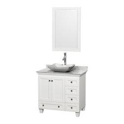 Shop 36 Inch White Vanity Top Bathroom Vanities on Houzz