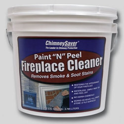 """SAVER SYSTEMS - Paint """"N"""" Peel Fireplace Cleaner - Features:"""