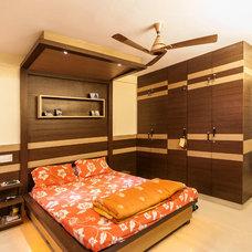 Asian Bedroom by Etagi Design Collaborative