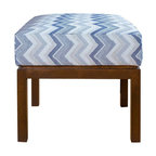Coco Ottoman - Designed with sleek clean lines, our Coco Ottoman is a multi-functional piece that can be used as a coffee table, extra seating, or comfortable foot stool.
