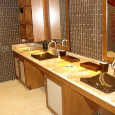 Modern Vanity Tops And Side Splashes by Eff & Dee Crafts
