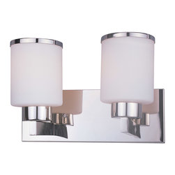 Z-Lite - Z-Lite 313-2V-CH Cosmopolitan 2 Light Bathroom Vanity Lights in Chrome - This 2 light Vanity from the Cosmopolitan collection by Z-Lite will enhance your home with a perfect mix of form and function. The features include a Chrome finish applied by experts. This item qualifies for free shipping!