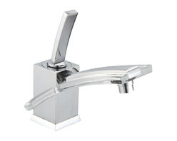 gallery - Gallery Chrome Bathroom Sink Faucet - This elegant faucet will add the perfect touch to any bathroom!