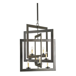 Currey and Company - Currey and Company Middleton Modern / Contemporary Chandelier X-7299 - Currey and Company Middleton Modern / Contemporary Chandelier X-7299