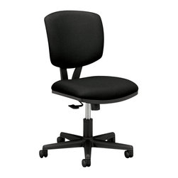Hon - Volt H5703 Task Chair-Black - Want to keep your business rolling forward and in the black? This chair may be a good place to start. It tilts, swivels, lifts and rolls on a base that's smooth, strong and sleek. And the black padded seat and back will keep you — and the whole crew — happy and moving along at the speed of business.