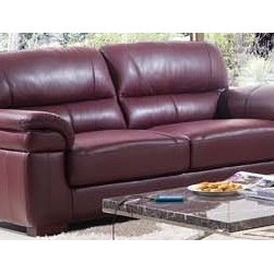 Malvolia Italian Leather Sofa - Rich luxurious Italian leather upholstery and detailed design work make the Malvolia Italian Leather Sofa a gorgeous addition to your livingroom that you, your family, and your guests will enjoy for years to come.