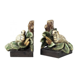 Sterling Industries - Quail Bookends - QUAIL BOOKENDS