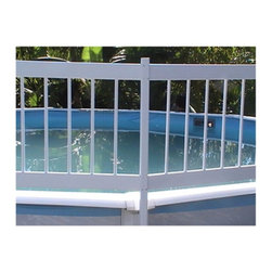 Splashnet Xpress - GLI Above Ground Pool 2 Section Fence Add-On Kit - NE147 - Shop for Pool Accessories from Hayneedle.com! The GLI Above Ground Pool 2 Section Fence Add-On Kit helps improve your pool's safety and prevents an accidental drowning. This solid 24-inch fencing keeps unwanted intruders out of the pool and keeps toys and water games in. The rigid vinyl construction is maintenance-free UV-protected and can be mounted on any above-ground pool. Our mounting brackets are super-strong with rounded edges that easily attach to your pool's uprights. Installation is easy and the fencing can fit any pool. Add-on Kit C comes with 2 fence sections fence posts installation instructions and necessary hardware.About SplashNet XpressSplashNet Xpress is dedicated to providing consumers with safe high-quality pool products delivered in a fast and friendly manner. While it's adding new product lines all the time SplashNet Xpress already handles pool maintenance items toys and games cleaning and maintenance devices solar products and aboveground pools.