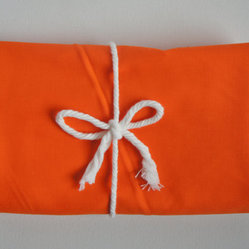 Changing Pad Cover, Orange by Mod Fox - Add a bright orange changing pad cover to bring some color into the nursery.