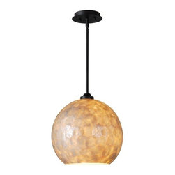 Kenroy Home - Kenroy Home 93411 Aden 1 Light Mid-Sized Pendant - Features: