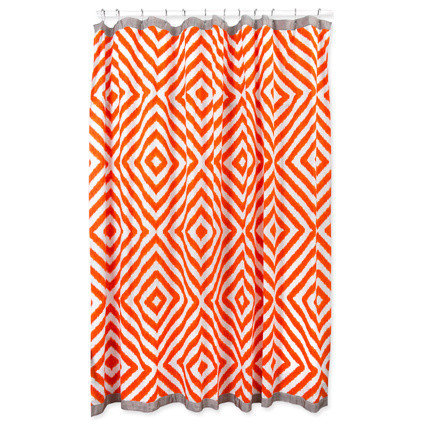 Contemporary Shower Curtains by Jonathan Adler