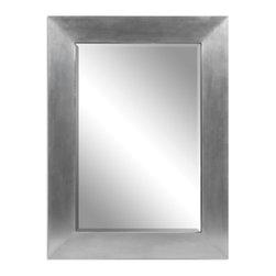 Wood Covered Aluminum Sheeting Mirror - Wood Covered Aluminum Sheeting Mirror