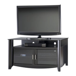 "Bush Furniture - Bush Furniture TV Stand, fits up to 50"" TV X-30-84961YM - Contemporary design ..."