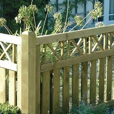 Modern Home Fencing And Gates by Garden Trellis Direct
