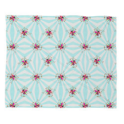 DENY Designs - Hadley Hutton Spring Spring Collection 2 Fleece Throw Blanket - This DENY fleece throw blanket may be the softest blanket ever! And we're not being overly dramatic here. In addition to being incredibly snuggly with it's plush fleece material, it's maching washable with no image fading. Plus, it comes in three different sizes: 80x60 (big enough for two), 60x50 (the fan favorite) and the 40x30. With all of these great features, we've found the perfect fleece blanket and an original gift! Full color front with white back. Custom printed in the USA for every order.