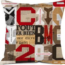 Contemporary Decorative Pillows by Bonjour mon coussin