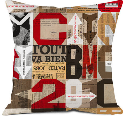 Contemporary Decorative Pillows by Bonjour mon coussin
