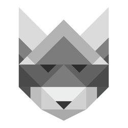 Poster Raccoon - Art print by talented Copenhagen illustrator and graphic designer Silke Bonde.
