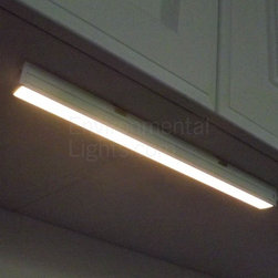 """MaxLite - MLSDLB1227LED Warm White 12 LED Undercabinet Light Bar MaxLite - These excellent LED under cabinet lights from Maxlite have built-in diffusers and grounded accessory cords and feature ETL safety ratings (file 4004814.) The MaxLite Plug and Play bars offer three major advantages over most LED undercabinet bars: They are """"self-driven,"""" which means you can connect them directly to 120 Volts AC. They do not require discrete drivers, which step down and rectify 120 Volts AC to a lower DC voltage, required by LEDs. Therefore, installation is simpler. They are dimmable, using specific dimmers we recommend as companion parts. DO NOT USE use CL, incandescent or magnetic low voltage dimmers. The light bars have built-in diffusers to hide the """"dots,"""" or points of light that may reflect off countertops and other shiny surfaces."""