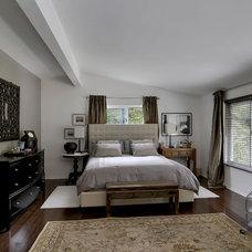 Modern Bedroom by John Muir Photography