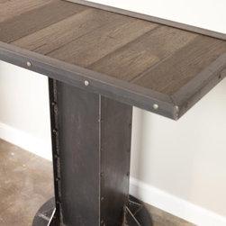Console Table - Vintage Industrial, urban/modern/loft design. Midcentury, Modern -