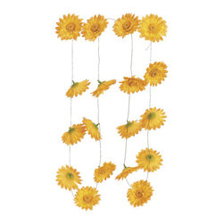 Silk Plants Direct - Silk Plants Direct Gerbera Daisy Garland (Pack of 6) - Yellow - Pack of 6. Silk Plants Direct specializes in manufacturing, design and supply of the most life-like, premium quality artificial plants, trees, flowers, arrangements, topiaries and containers for home, office and commercial use. Our Gerbera Daisy Garland includes the following: