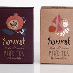 Harvest Fine Tea - Excellent tea always makes a good gift in my book, and these boxes are so pretty that they beg to be left out on the counter. I would bundle a box with some delicious biscotti or tea cookies, and maybe a special teatime playlist created for the occasion.