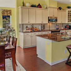Contemporary Kitchen by David Weekley Homes