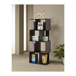 Celeste Wood Display Bookcase