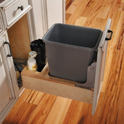 Fieldstone, where Form meets Function - Storage for your trash bin and bags