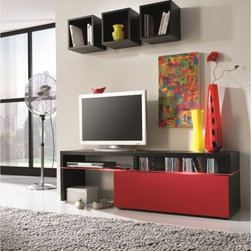 Amsterdam Combination-11088 Modern Wall Units - Features: