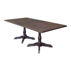 Hampton Double Pedestal Dining Table