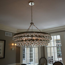 Eclectic Chandeliers by Affinity Builders LLC