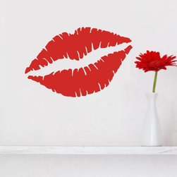 ColorfulHall Co., LTD - Love Wall decal Red Sexy Lip - Love Wall decal Red Sexy Lip